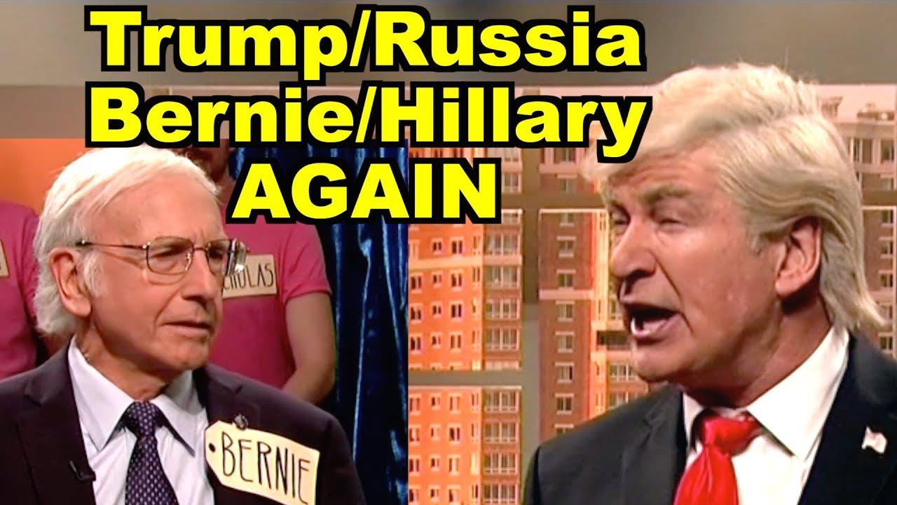 'Saturday Night Live': Alec Baldwin and Larry David Contribute to an Awkward ...