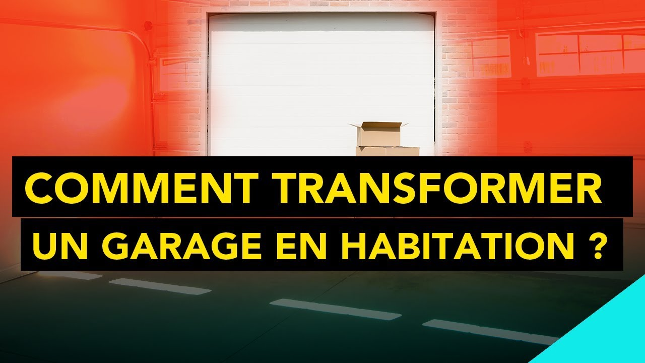 comment transformer un garage en habitation youtube. Black Bedroom Furniture Sets. Home Design Ideas