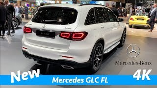 New Mercedes GLC FL AMG package 2019 - FIRST look in 4K - better than BMW X3!
