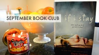 September Book Club: If I Stay! Thumbnail