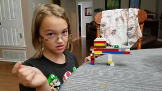 Working Lego Blow Gun [No Technic or rubber bands needed]