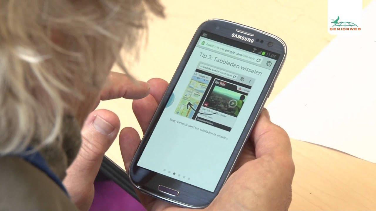 Afbeeldingsresultaat voor smartphone senioren