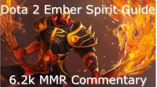 Dota 2 Ember Spirit Guide 6.85: Farming Efficiently, Safe Aggression (Gameplay Commentary 6.2K MMR)