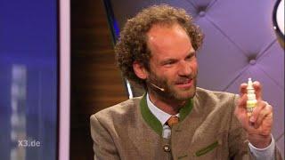 Agrar-Lobbyist Maxi Schafroth bei extra 3