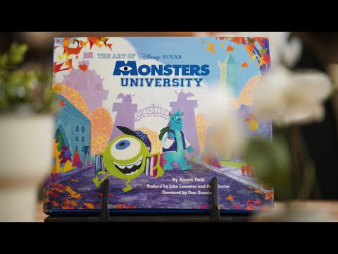 The Art Of MONSTER UNIVERSITY - Happiness Disguised As A Book