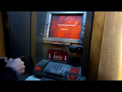 Exchange Dollar To Turkish Lira In ATM Turkey