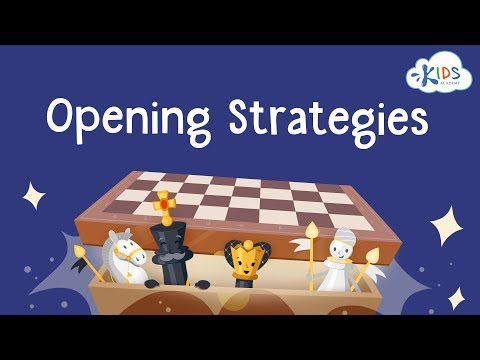 Basic Opening Strategies | Chess Lessons for Kids | Kids Academy