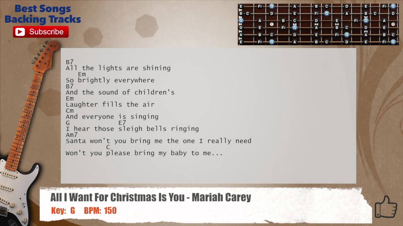 All I Want For Christm... Christmas Songs On Youtube Mariah Carey