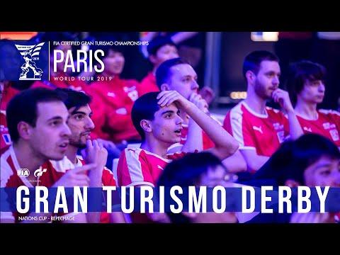 Gran Turismo Derby - Repechage Highlights - #FIAGTC Paris World Tour thumbnail
