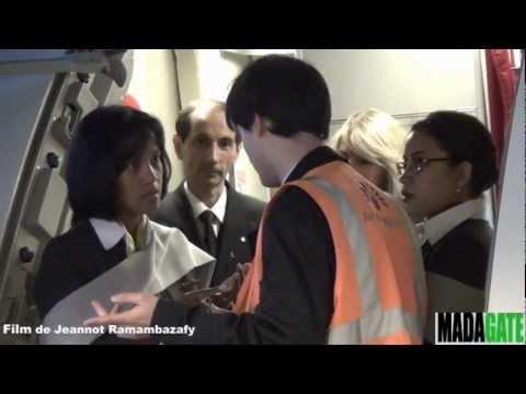 Air Madagascar Airbus 1er vol