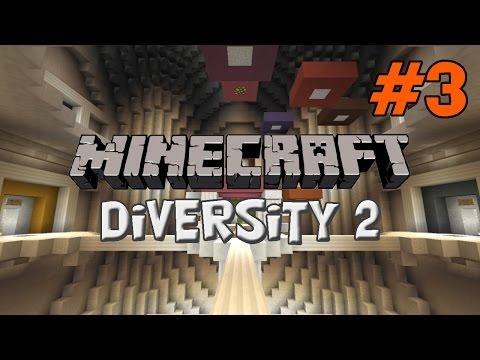 Minecraft: Diversity 2 #3 - Jeg har da ikke brug for træning! (Parkour)
