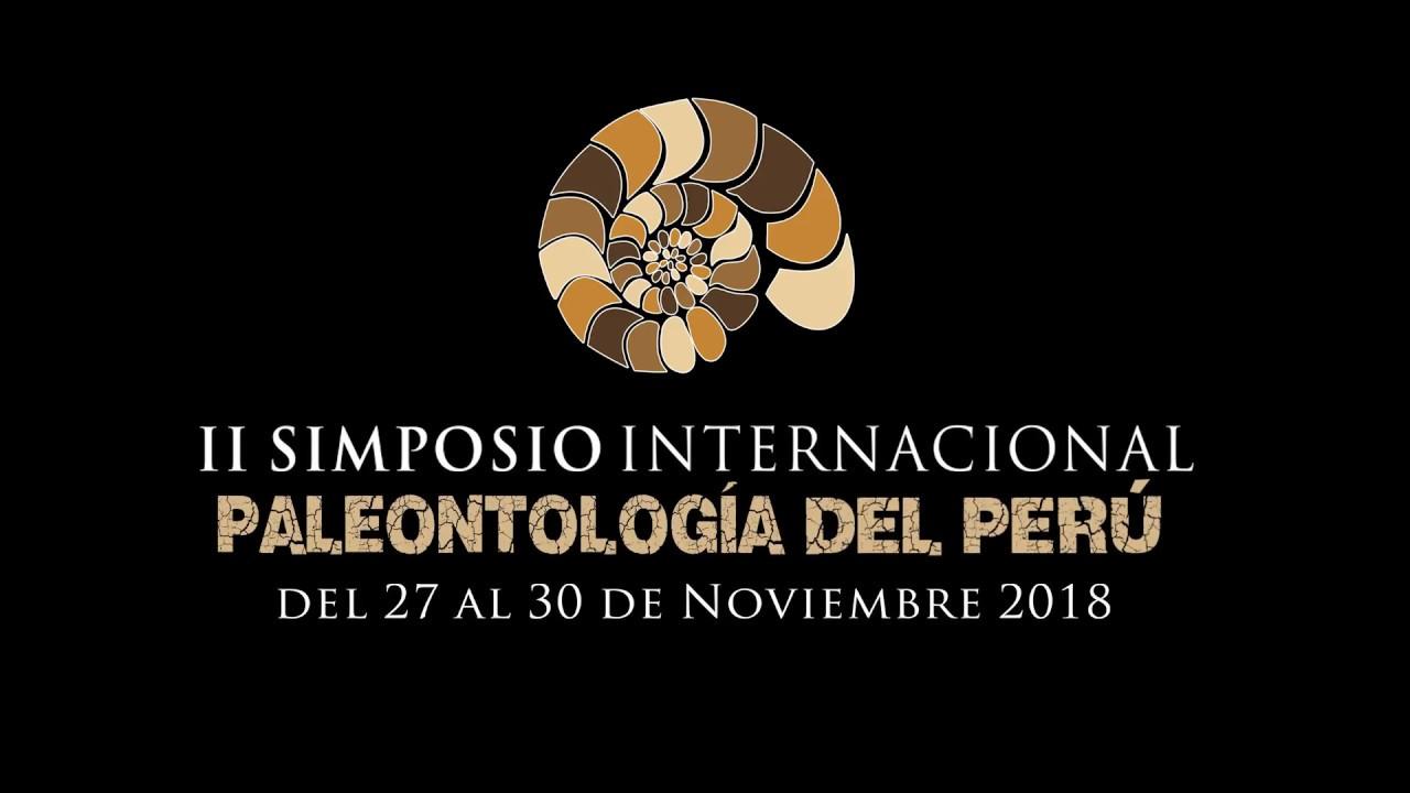 Resultado de imagen para II Simposio Internacional de Paleontología del Perú