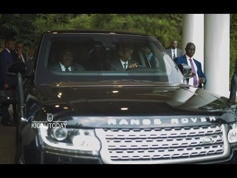 President Ali Bongo Ondimba of Gabon Visits Rwanda