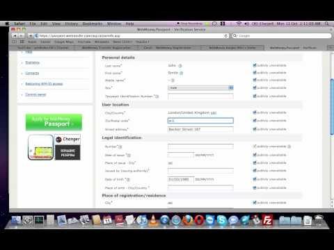 How To Receive Webmoney Formal Passport - Tutorial (english Version)