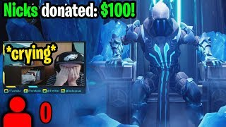 I donated to Twitch Streamers with 0 viewers to help make their day! (emotional reactions) MP3