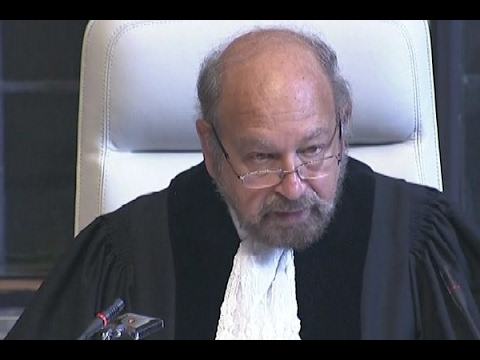 Public hearing in International Court of Justice on Kulbhushan Jadhav case in The Hague, N