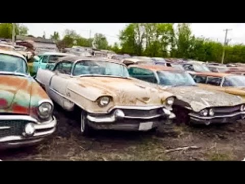 200 Classic Car Collection Liquidation! A MUST WATCH!