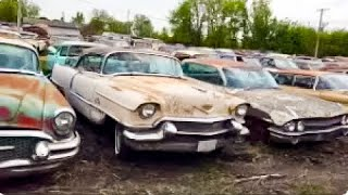 200 classic car collection liquidation! See at uniqueclassiccars.com