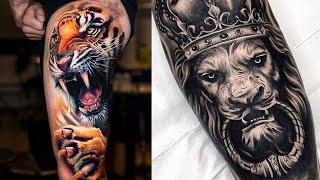 Топ 12 татуировка животных, цветные тату животных и насекомых.