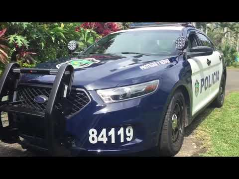 Police / Cop Vehicles In Panama: Cars, Motorbikes, Quads & More