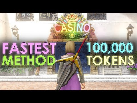 Dragon Quest XI How To Gain 100,000 Token Fast In Casino Easiest Method