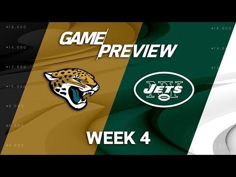 Jacksonville Jaguars vs. New York Jets | Week 4 Game Preview | NFL