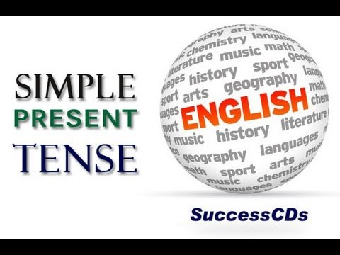 Simple Present Tense - Learn English Tenses - YouTube