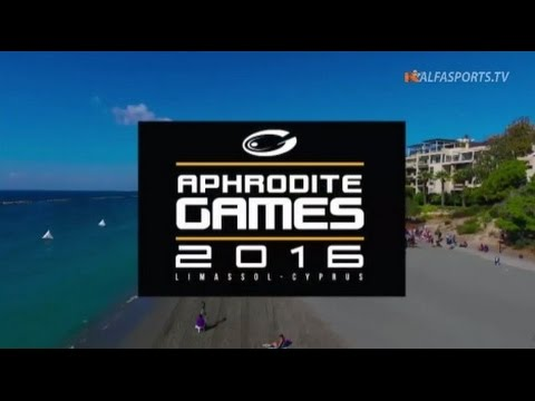 Aphrodite Games 2016 - Finals (Full) | Video on Demand