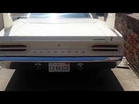 1970 Plymouth Superbird 440 Six-Barrel Cold Start Up