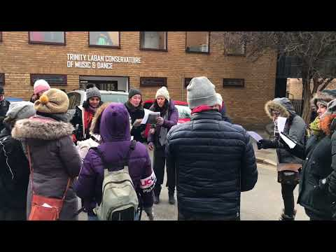 Bohemian Rhapsody at Goldsmiths UCU Strike