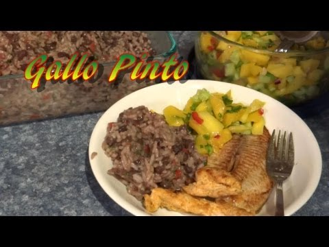 Gallo Pinto Recipe - Rice and Beans  (Costa Rican) , Cooking from Garden and Food Pantry