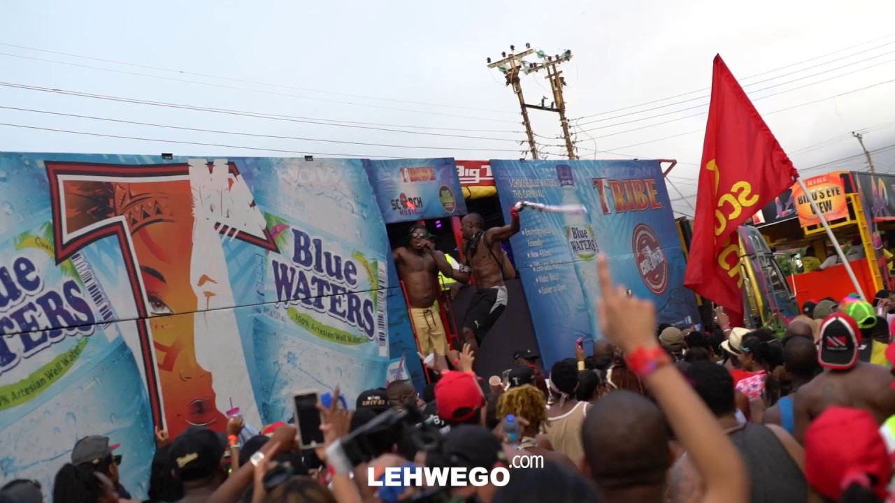 Trinidad Carnival Banners Tattoo Script Banners