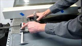 Mag-dro Magnetic Caliper Base Table Saw Fence Alignment