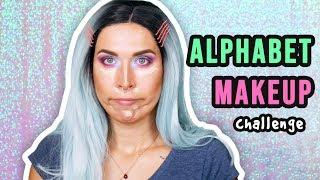 ♦ Alphabet Makeup CHALLENGE!  ♦ Agnieszka Grzelak Beauty