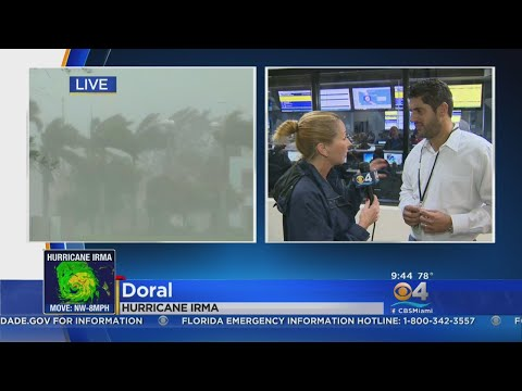 Miami-Dade County Official: Please Stay Inside