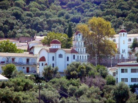 Ιερά Μονή Αγίου Ραφαήλ στη Μυτιλήνη