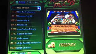 Pandoras Box 5s (1299 in 1 version) game list.
