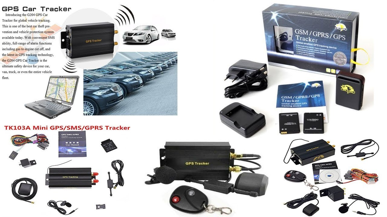 GPRS GSM SMS Vehicle Car GPS Tracker TK103A Tracking Device Alarm System