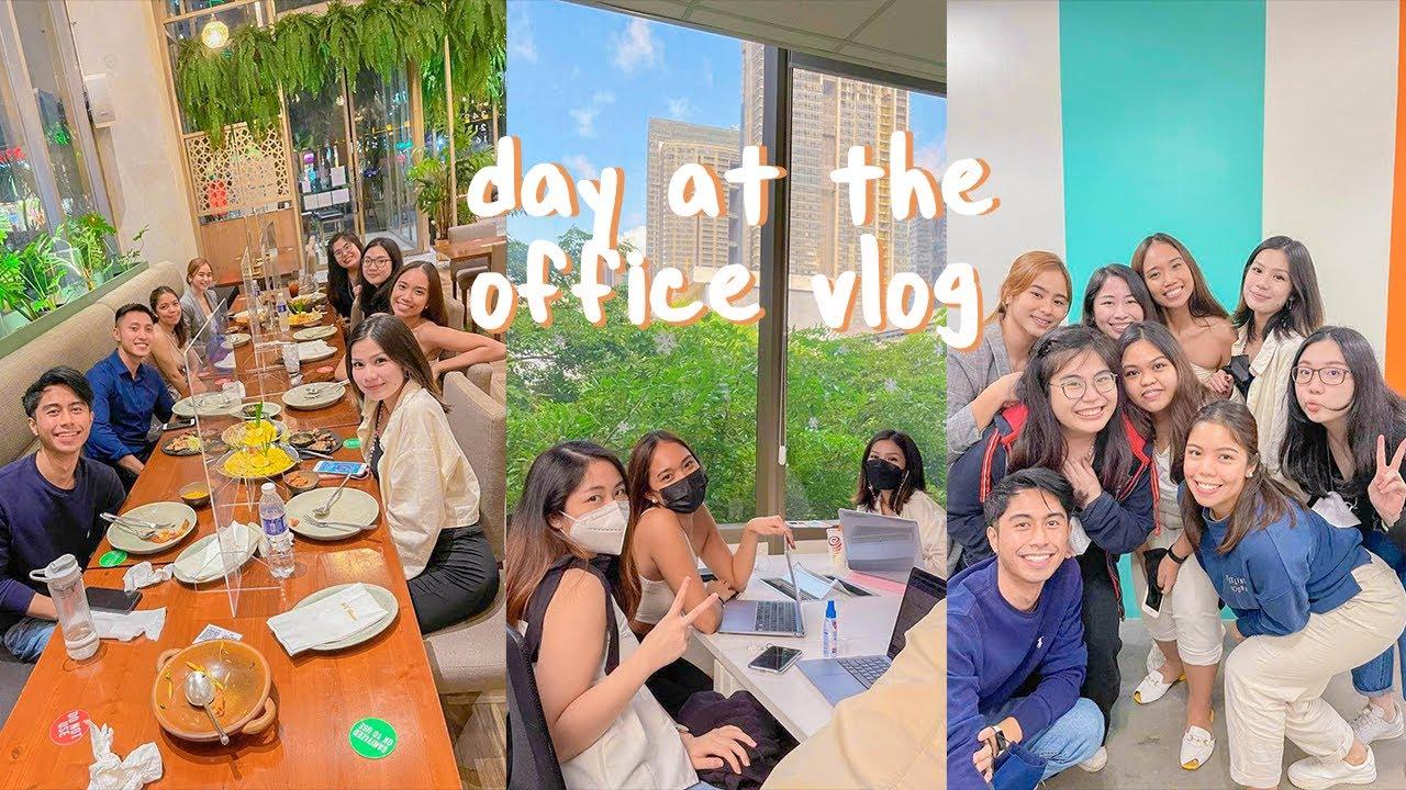 ☀️9-5 office life in bgc👩💼💻 // work vlog #barebare