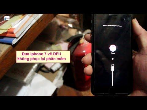 Cách đưa iPhone 7 về chế độ DFU nhanh nhất  How to reboot, reset, or enter DFU mode