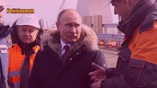 Путин в Крыму Керченский мост 2018 оценил ход строительства