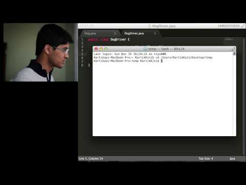 Java Programming Tutorials - 1: Creating Classes