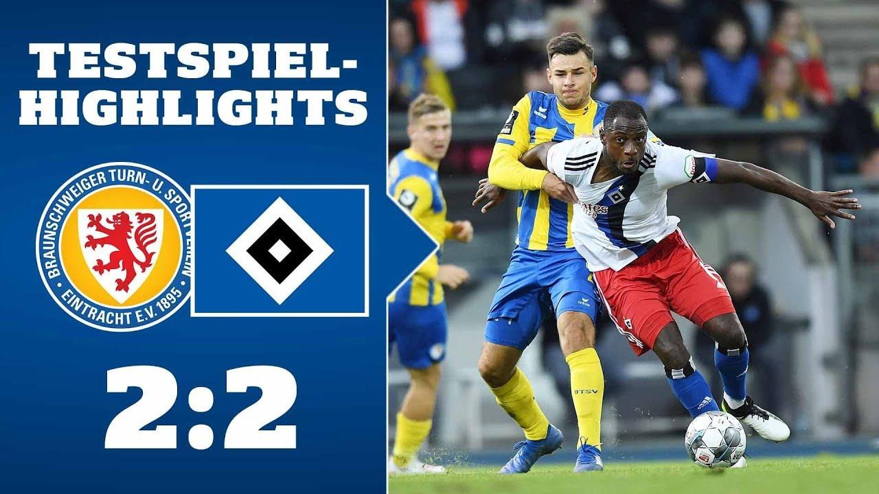 Highlights: Eintracht Braunschweig - HSV | SAISON 2019/20