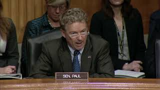 Sen. Paul Questions FBI Director on Domestic Spying - Oct. 10, 2018