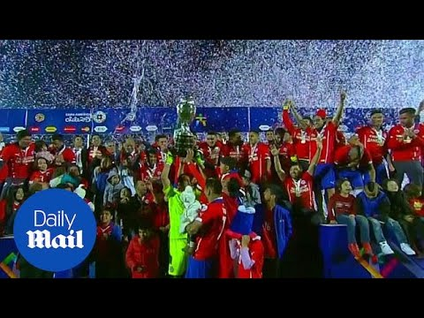 Chile wins Copa America with penalties defeat of Argentina - Daily Mail