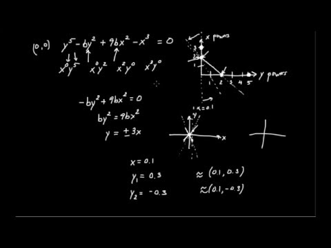 Newton's Infinitesimal Calculus (3):  Algebraic Curves and Puiseux Series