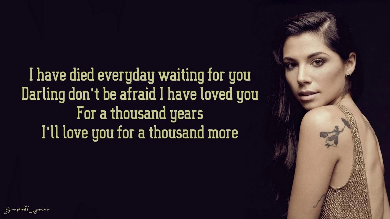 Download Christina Perri - A Thousand Years (Lyrics)