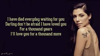 Gambar cover Christina Perri - A Thousand Years (Lyrics)