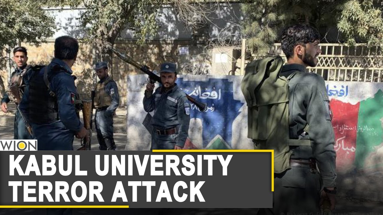 Islamic State claims responsibility for Kabul University attack | Afghanistan news | World News