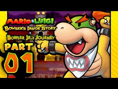 Mario & Luigi: Bowser Jr's. Journey - Part 1: The Other Side of The Story!